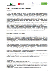 Carta nazionale dei contratti di fiume